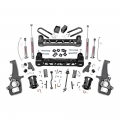 Rough Country - Rough Country 6in Suspension Lift Kit | 2006-2008 Dodge Ram 1500 2WD