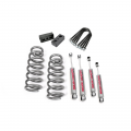 Suspension & Steering - Suspension Lift Kits - Rough Country - Rough Country 3in Suspension Lift Kit | 2002-2005 Dodge Ram 1500 2WD