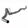 "Full Exhaust Systems - Downpipe Back Exhaust Systems - Flo~Pro - Flo~Pro 4"" Stainless Steel Downpipe Back No Muffler 