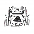 Jeep Parts - Jeep Wrangler Parts - Rough Country - Rough Country 6in Long Arm Suspension Lift Kit | 2007-2011 Jeep Wrangler JK Unlimited 4WD