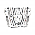 Jeep Parts - Jeep Wrangler Parts - Rough Country - Rough Country 6in X-Series Suspension Lift Kit | 2007-2018 Jeep Wrangler JK 4WD (2 Door Only)