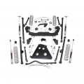 Rough Country 4in Long Arm Suspension Lift Kit | 2007-2011 Jeep Wrangler JK 4WD (2 Door Only)