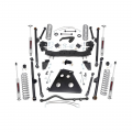 Rough Country 4in Long Arm Suspension Lift Kit | 2007-2011 Jeep Wrangler JK Unlimited 4WD