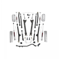 Suspension & Steering - Suspension Lift Kits - Rough Country - Rough Country 2.5in Long Arm Suspension Lift Kit | 2004-2006 Jeep Wrangler TJ Unlimited 4WD (6Cyl)