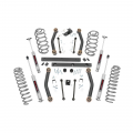 Suspension & Steering - Suspension Lift Kits - Rough Country - Rough Country 4in Suspension Lift Kit | 2003-2006 Jeep Wrangler TJ 4WD