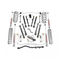 Suspension & Steering - Suspension Lift Kits - Rough Country - Rough Country 6in X-Series Suspension Lift Kit | 1997-2006 Jeep Wrangler TJ 4WD