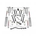 Suspension & Steering - Suspension Lift Kits - Rough Country - Rough Country 6in X-Series Suspension Lift Kit | 1997-2006 Jeep Wrangler TJ 4WD
