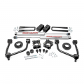 Suspension & Steering - Suspension Lift Kits - Rough Country - Rough Country 3.5in Bolt-On Lift Kit | 2007-2018 Toyota Tundra 4WD
