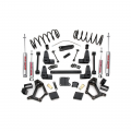Suspension & Steering - Suspension Lift Kits - Rough Country - Rough Country 4-5in Suspension Lift Kit | 1990-1995 Toyota 4-Runner 4WD
