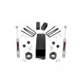 Suspension & Steering - Suspension Lift Kits - Rough Country - Rough Country 3.5in Suspension Lift Kit | 2007-2016 GM 1500 4WD P/U