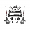 2007.5-2014 Chevrolet Silverado / GMC Sierra - Chevrolet Silverado / Sierra Suspension - Rough Country - Rough Country 5in Suspension Lift Kit | 2007-2013 GM 1500 2WD P/U