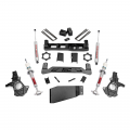 2007.5-2014 Chevrolet Silverado / GMC Sierra - Chevrolet Silverado / Sierra Suspension - Rough Country - Rough Country 5in Suspension Lift Kit | 2007-2013 GM 1500 4WD P/U