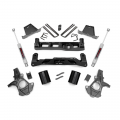 2007.5-2014 Chevrolet Silverado / GMC Sierra - Chevrolet Silverado / Sierra Suspension - Rough Country - Rough Country 7.5in Suspension Lift Kit | 2007-2013 GM 1500 2WD P/U
