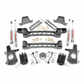 2007.5-2014 Chevrolet Silverado / GMC Sierra - Chevrolet Silverado / Sierra Suspension - Rough Country - Rough Country 6in Suspension Lift Kit | 1999-2006 GM 1500 2WD P/U