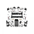2007.5-2014 Chevrolet Silverado / GMC Sierra - Chevrolet Silverado / Sierra Suspension - Rough Country - Rough Country 4in NTD Suspension Lift Kit | 1999-2006 GM 1500 4WD P/U
