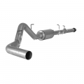 "Ford Exhaust Systems - Ford F150 Eco-Boost Trucks Exhaust Systems - Flo~Pro - Flo~Pro 4"" Aluminized CAT-Back w/Muffler 