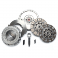 Clutch  Kits - Street Double Disc Clutch Kits - South Bend Clutch - South Bend Organic Street Dual Disc Clutch Kit w/Flywheel for 2008-2010 6.4L Ford Powerstroke