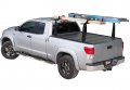 "Tonneau Bed Covers - BAK TONNEAU BED COVERS - BAK - BAK Flip CS/F1 Tonneau Cover with Rack 72121BT | 2014-2018 GM Silverado, Sierra 6' 6"" Bed (2014 1500 Only, 2015 All)"
