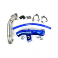 Diesel Truck Parts - Sinister Diesel - Sinister Diesel EGR Delete Kit w/High Flow Intake Tube & Passenger Side Up-Pipe for 2004.5-2005 GM Duramax LLY 6.6L