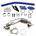 Diesel Truck Parts - Outlaw Diesel - Outlaw Diesel EGR Delete Kit w/Passenger Side Up-Pipe for 2004.5-2005 GM Duramax LLY 6.6L