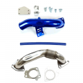 2004.5-2005 Chevy/GMC Duramax LLY 6.6L Parts - EGR Upgrades | 2004.5-2005 Chevy/GMC Duramax LLY 6.6L - Outlaw Diesel - Outlaw Diesel EGR Delete Kit w/High Flow Intake Tube & Passenger Side Up-Pipe for 2004.5-2005 GM Duramax LLY 6.6L