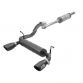 "Jeep Wrangler Parts - Exhaust Systems - aFe Power - aFe Power Rebel Series 2-1/2"" 409 Stainless Cat-Back Exhaust System for 2018 Jeep Wrangler JL"