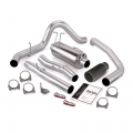 Banks Power - Banks Power Monster Single Exit Exhaust System w/Black Tip for 2003-2007 Ford Powerstroke F450/F550 Crew Cab