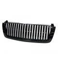 2001-2004 Chevy/GMC Duramax LB7 6.6L Parts - Grilles | 2001-2004 Chevy/GMC Duramax LB7 6.6L - Spyder - Spyder® Black Front Grille (Center Only) | 2003-2007 Chevy Silverado