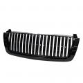 Diesel Truck Parts - Spyder - Spyder® Black Front Grille (Center Only) | 2003-2007 Chevy Silverado