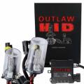 HID & LED Headlight Kits - HID Kits By Bulb Size - Outlaw Lights - Outlaw Lights Single Beam HID Headlight / Fog Light Kit | 9006 33/55w
