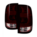 Spyder - Spyder® Chrome/Red Smoke OEM Style Tail Lights | 2007-2014 GMC Sierra