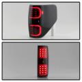 Spyder Black Smoke Fiber Optic LED Tail Lights   2009-2014 Ford F-150   Dale's Super Store