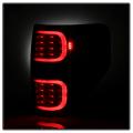Spyder? Black Smoke Fiber Optic LED Tail Lights   2009-2014 Ford F-150   Dale's Super Store