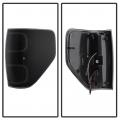 Spyder Black Smoke Fiber Optic LED Tail Lights | 2009-2014 Ford F-150 | Dale's Super Store