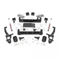 Nissan Frontier Page - Nissan Frontier Suspension Products - Rough Country - Rough Country 6in Suspension Lift Kit | 2005-2018 Nissan Frontier 2WD/4WD