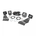 Fog Lights - Fog Light Kits - Rough Country - Rough Country LED Fog Lights | 2005-2018 Nissan Frontier 2WD/4WD