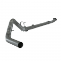 "Full Exhaust Systems - Downpipe Back Exhaust Systems - Flo~Pro - Flo~Pro 4"" Stainless Downpipe Back no/Muffler 