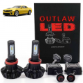 HID Headlight Kits by Bulb Size - H9 Headlight Kits - Outlaw Lights - Outlaw Lights LED Headlight Kit | 2014-2015 CAMARO w/o HID | HIGH BEAM | H9