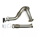 Sinister Diesel - Sinister Diesel Raw Y-Pipes | 2003-2007 Ford Powerstroke 6.0L