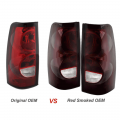 Spyder Red Smoked OEM Style Tail Lights | 2003-2007 Chevy Silverado 1500 / 2500 / 3500 | Dale's Super Store