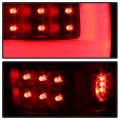 Spyder Black Fiber Optic LED Tail Lights   2004-2008 Ford F-150   Dale's Super Store