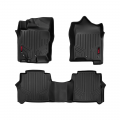Interior - Floor Liners - Rough Country - Rough Country Heavy Duty Floor Mats | 2005-2018 Nissan Frontier Crew Cab 2WD/4WD