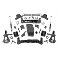 2007.5-2014 Chevrolet Silverado / GMC Sierra - Chevrolet Silverado / Sierra Suspension - Rough Country - Rough Country 7in Suspension Lift Kit | 2018 GM 1500 Pickup 4WD