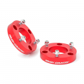 Suspension & Steering - Leveling Lift Kits - Rough Country - Rough Country 2.5in Leveling Strut Extensions (Red)   05-15 Xterra / 05-18 Frontier