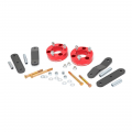 Nissan Frontier Page - Nissan Frontier Suspension Products - Rough Country - Rough Country 2.5in Suspension Lift Kit (Red) | 05-15 Xterra / 05-18 Frontier