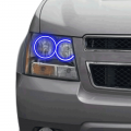 Profile Pixel Performance - Profile Performance Prism Fitted Halos (RGB) | 2007-2013 Chevy Avalanche