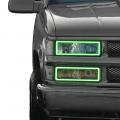 Profile Pixel Performance - Profile Performance Prism Fitted Halos (RGB) | 1988-1999 Chevy Silverado