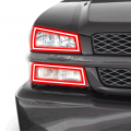Chevrolet Silverado 2500/3500 Lighting Products - Chevrolet Silverado 2500/3500 RGB & Switchback (DRL Boards, Halos, & Demon Eyes) - Profile Pixel Performance - Profile Performance Prism Fitted Halos (RGB) | 2003-2006 Chevy Silverado