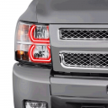 Lighting | 2011-2016 Chevy/GMC Duramax LML 6.6L - RGB & Switchback (DRL Boards, Halos, & Demon Eyes) | 2011-2016 Chevy/GMC Duramax LML 6.6L - Profile Pixel Performance - Profile Performance Prism Fitted Halos (RGB) | 2007-2013 Chevy Silverado