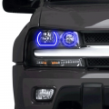 Profile Pixel Performance - Profile Performance Prism Fitted Halos (RGB) | 2002-2009 Chevy Trailblazer